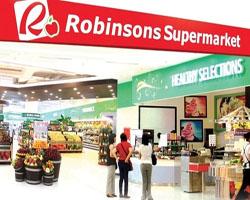 chuoi ban le Robinsons supermarket