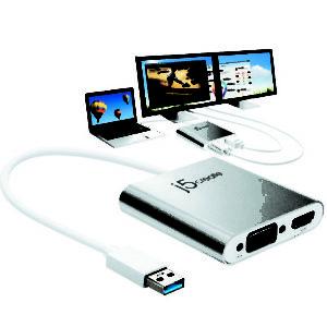 Bộ chuyển đổi USB HDMI VGA JUA360