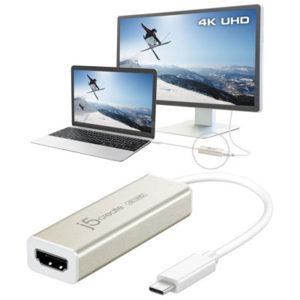 Bộ chuyển đổi USB Type-C 4K HDMI JCA153