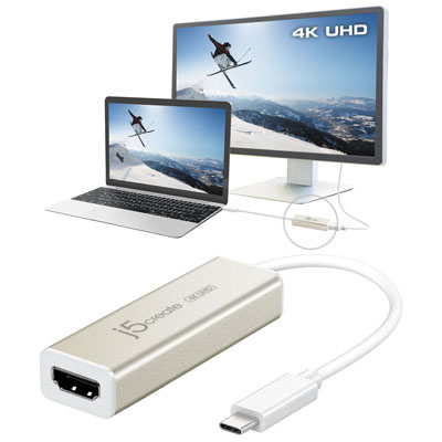Bộ chuyển đổi USB Type-C 4K HDMI JCA153 j5create