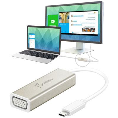 Bộ chuyển đổi USB Type-C VGA JCA111