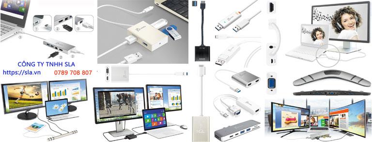 Phụ kiện j5create cho PC desktop, laptop, điện thoại