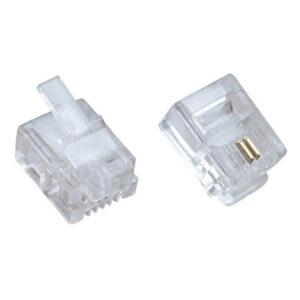 Đầu điện thoại RJ11 connector 6P2C modular plug