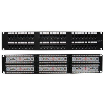 Thanh đấu nối patch panel 48 cổng Cat5e